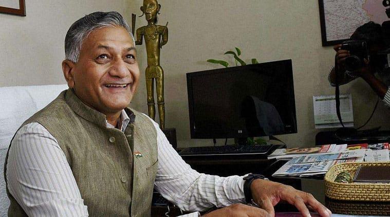 v k singh, Not Government Fault If One Stones a Dog, BJP, Loksatta, loksatta news, Marathi, Marathi news