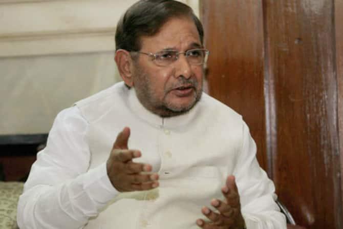 JDU, party chief, nitish kumar, suspends, Sharad Yadav, loyalists, party