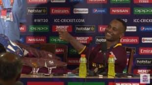T20 world-cup,West Indies Won,ट्वेन्टी-२० विश्वचषक,वेस्ट इंडिज , MARLON SAMUELS , press conference , Loksatta, loksatta news, Marathi, Marathi news