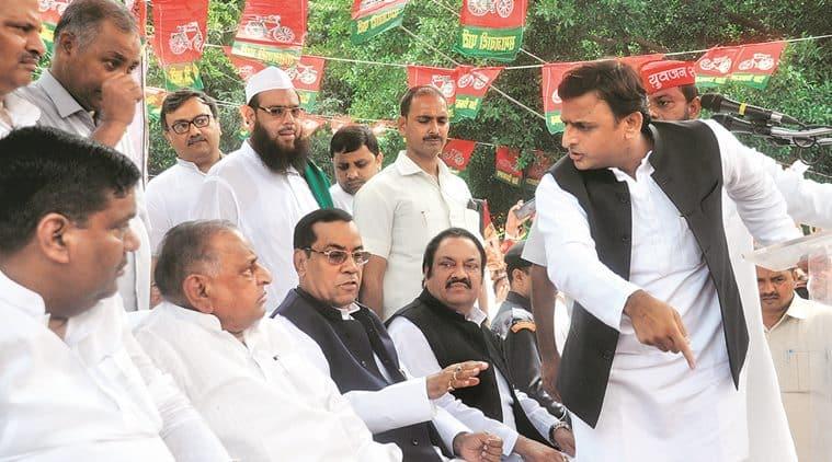 Father versus son versus uncle , Samajwadi Party Parivar, Uttar Pradesh, assembly elections, Shivpal Singh Yadav , Mulayam Singh Yadav, Akhilesh Yadav, Loksatta, Loksatta news, Marathi, Marathi news
