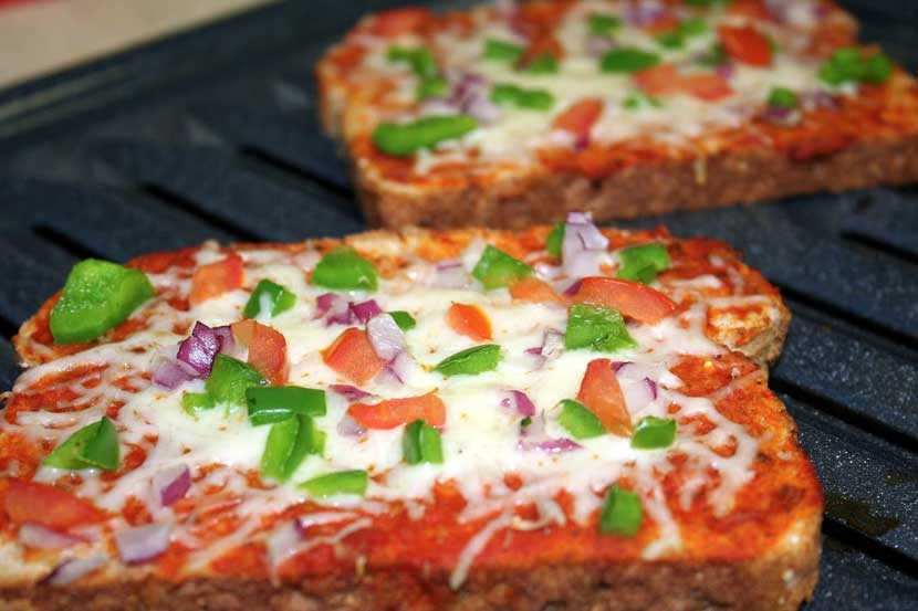 Bread Pizza, ब्रेड पिझ्झा
