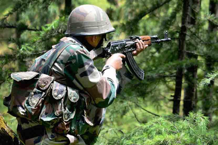 Indian Army troops crossed over the Line of Control , PoK , Surgical strike, three Pakistani army soldiers , Loksatta, Loksatta news, Marathi, Marathi news
