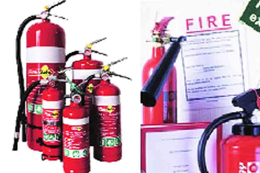 fire fighting machinery