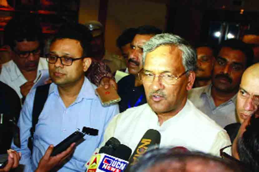Uttarakhand Chief Minister Trivendra Singh Rawat,