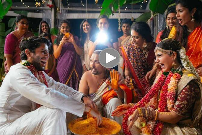 Samantha - Naga Chaitanya wedding