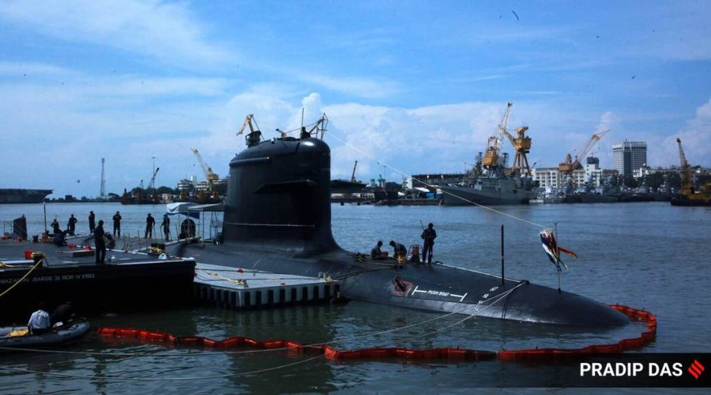 Defence ministry submarine project rajnath singh Indian navy p 75