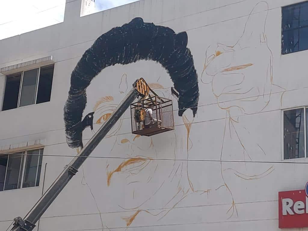 Raj Thackeray Birthday, Pune Raj Thackeray Wall Painting,