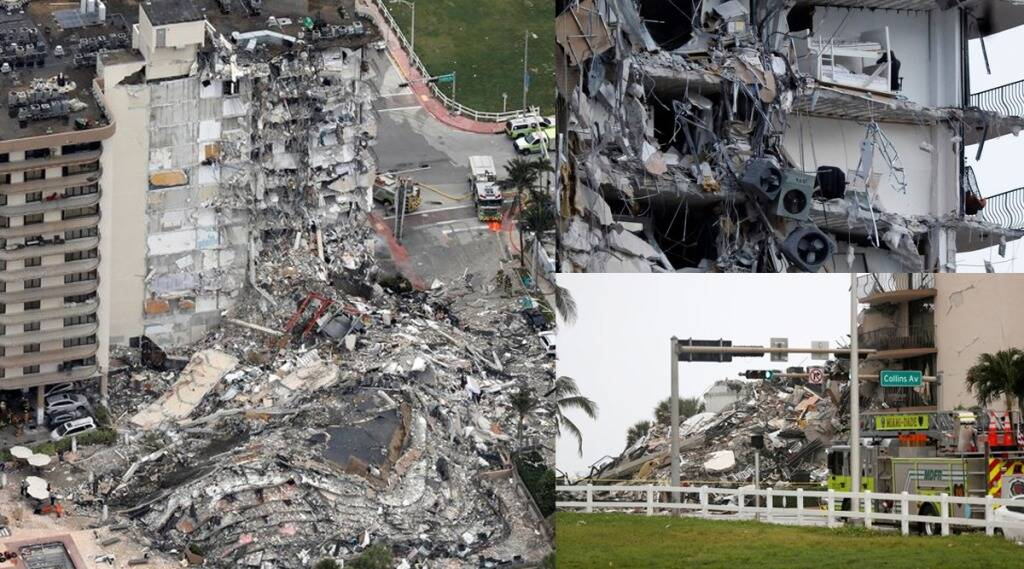 US Florida Building Collapsed