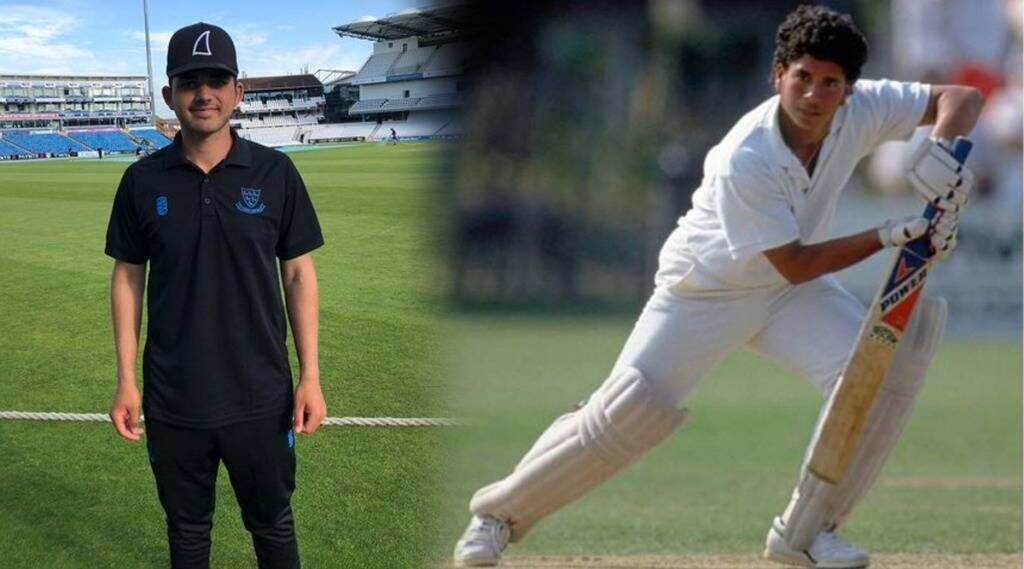 16 year old danial Ibrahim scores 50 on his county debut