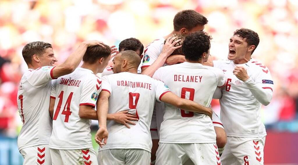Euro Cup 2020 wales vs denmark match result