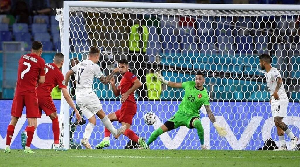 Euro cup 2021 Italy winning opener One sided victory over Turkey 3 0