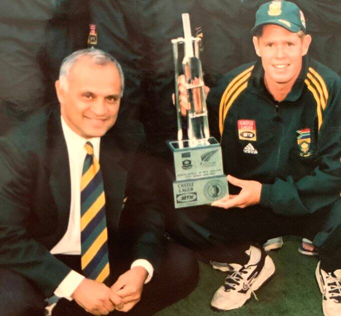 Former south africa team manager goolam rajah passes away