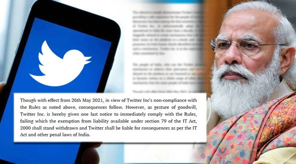 govt of india final notice to twitter