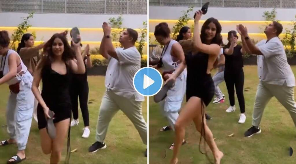 janhvi kapoor dance with her friends and video gone viral