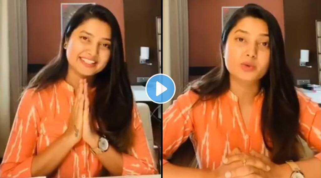 prajakta mali talked about how the trust aamch ghar is going to help the needy people