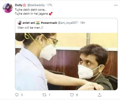 vaccination viral Photo of nurse and boy