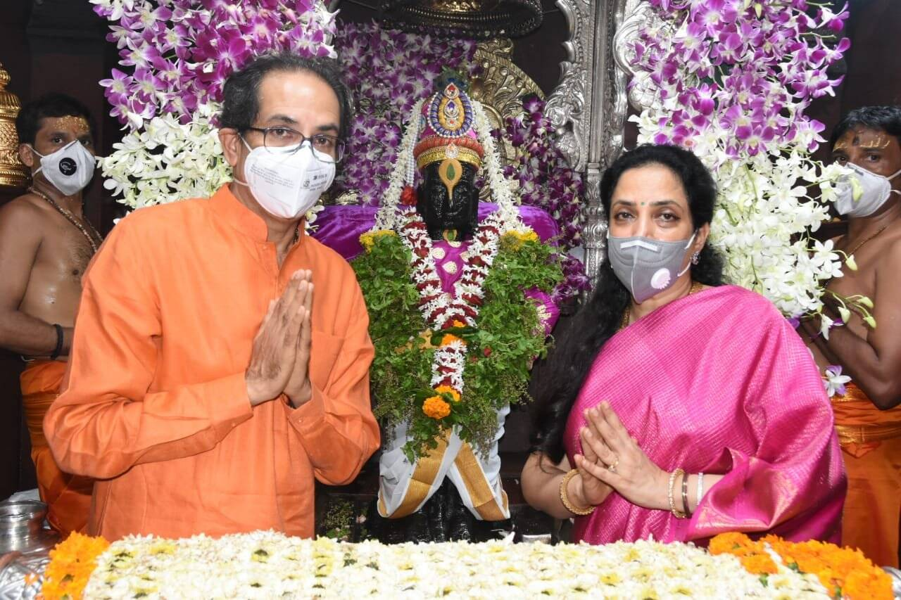 Maharashtra CM Uddhav Thackeray Rashmi Thackeray Love Story