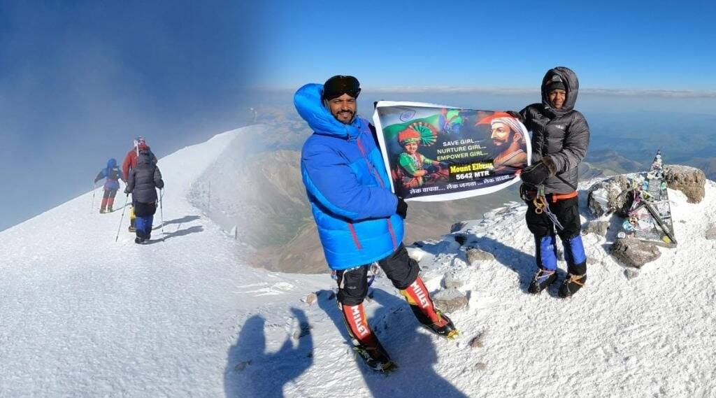 Pune father daughter Climbed the highest peak in Europe