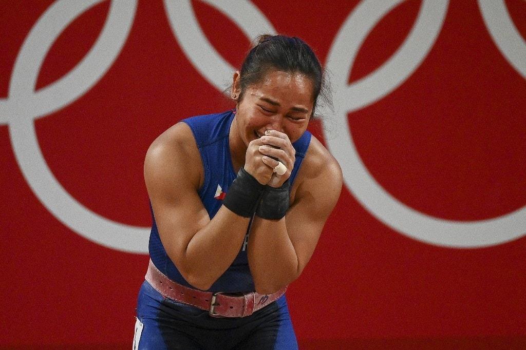 Olympics 2020 Hidilyn Diaz Philippine First Ever Gold Medalist