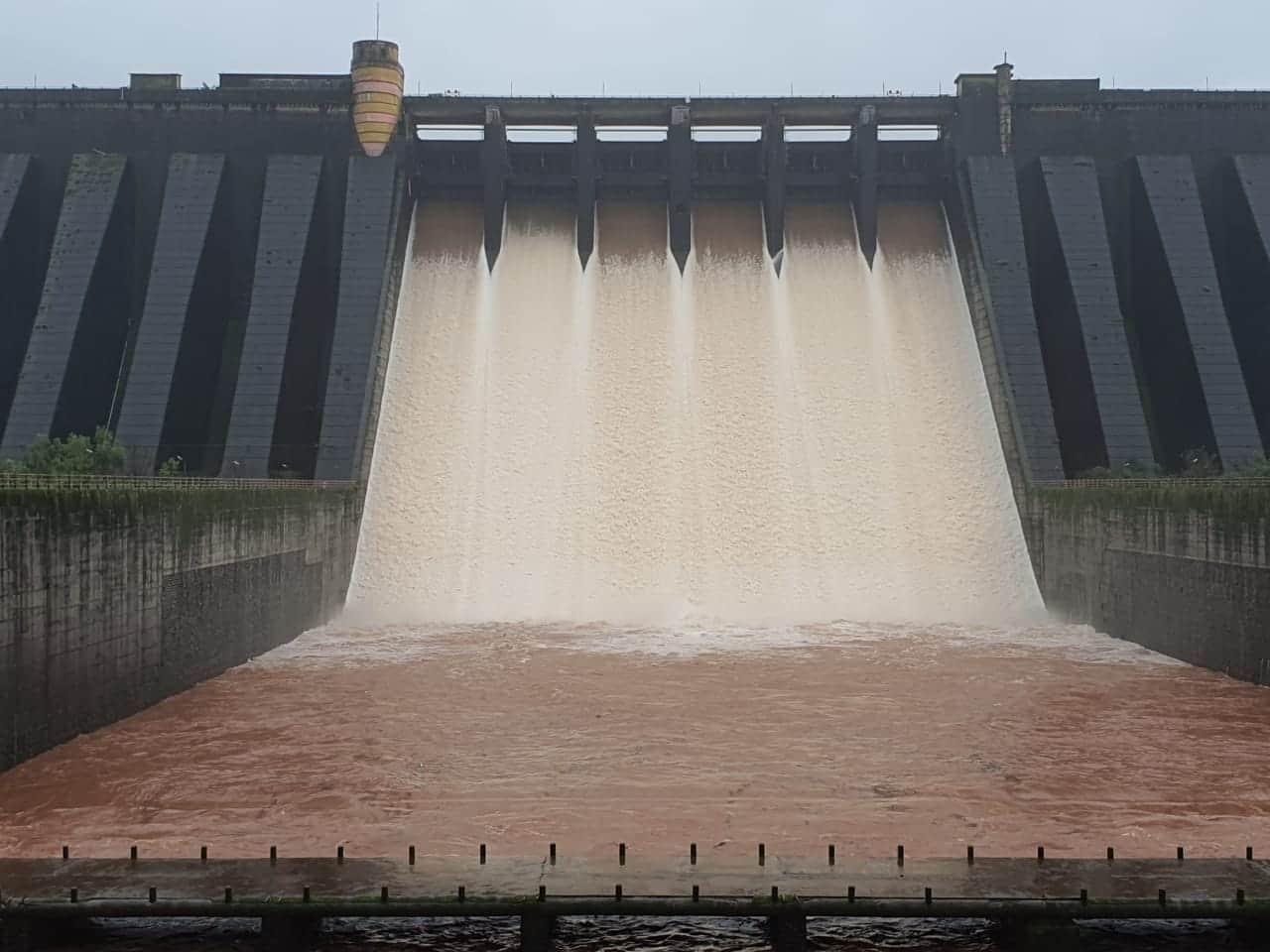 Koyna Dam water level
