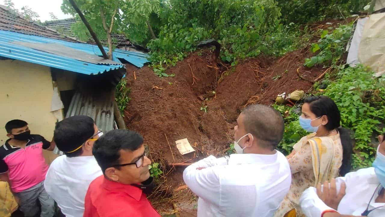 Landslide in Raigad talai