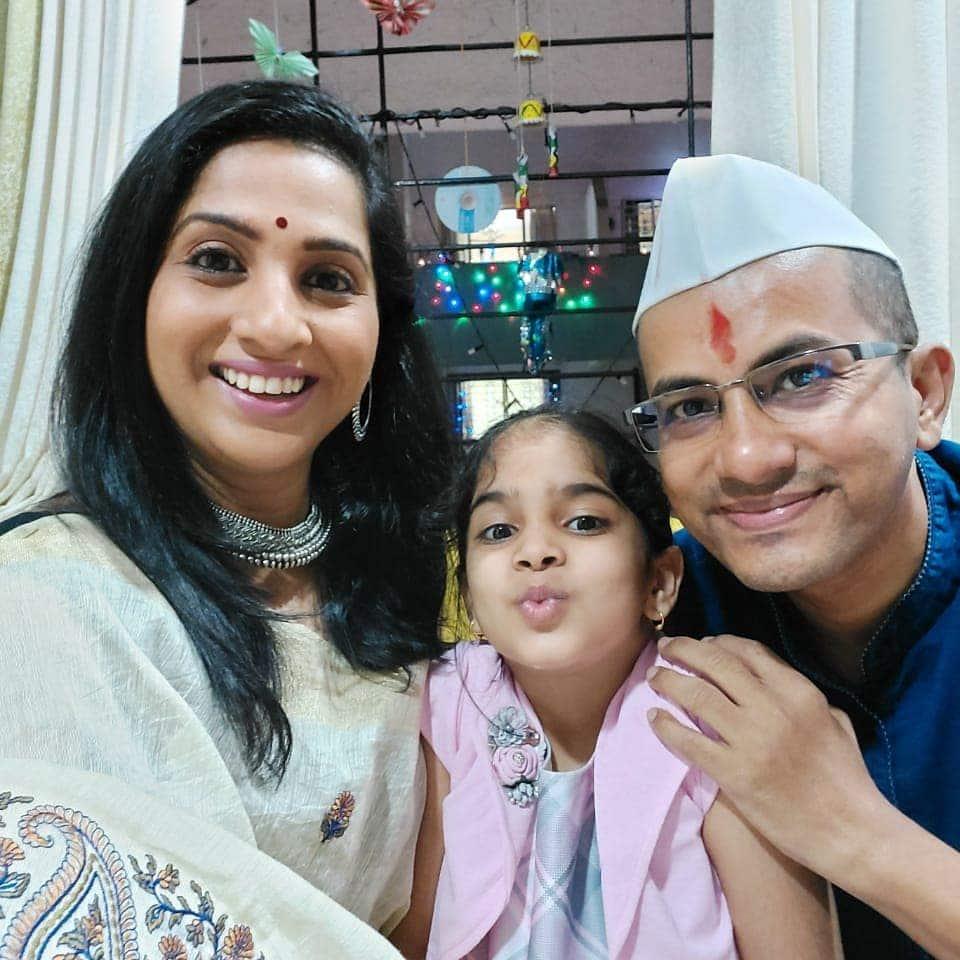 Aai Kuthe Kay Karte Fame Madhurani Gokhale Prabhulkar Pramod Prabhulkar