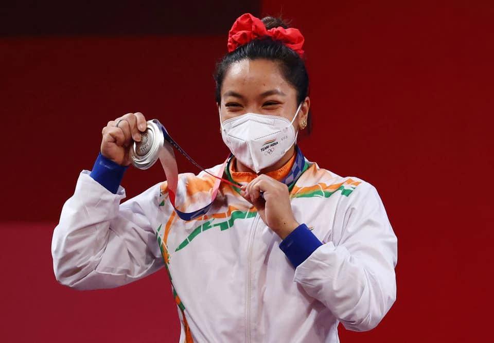 Saikhom Mirabai Chanu Tokyo Olympics Silver Medal