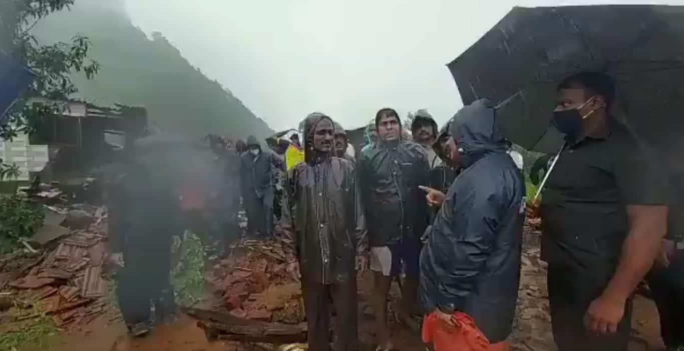 Maharashtra Floods RainFall Landslides Mahad Raigad
