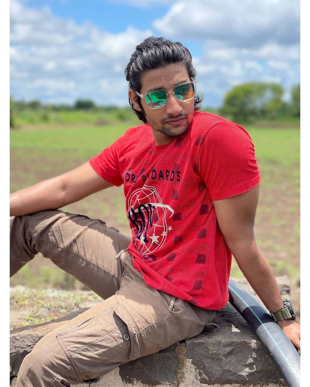 Sairat Fame Rinku Rajguru Akash Thosar Latest Photos