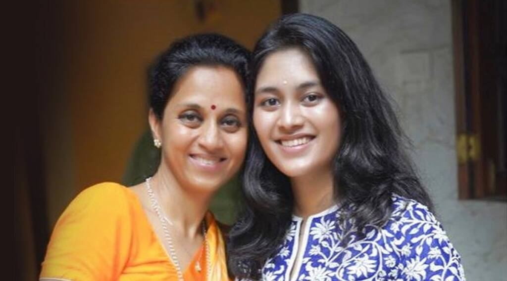 Supriya Sule was overwhelmed by her daughter Revathi special gift Emotions expressed by sharing photos