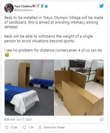 Tokyo Olympic 2020 Anti Sex Beds Condom