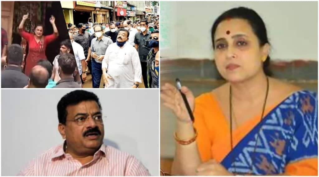 Wagh strongly criticizes Bhaskar Jadhav