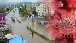 Fear of spreading corona from flood victims shifted to safer place