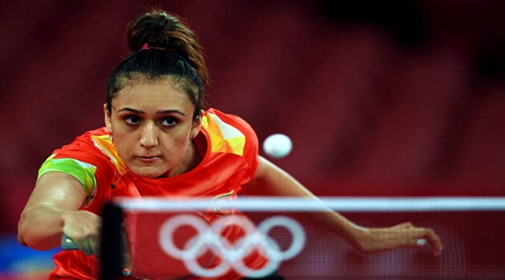 Tokyo olympics table tennis player manika batra refuses to take help of national coach