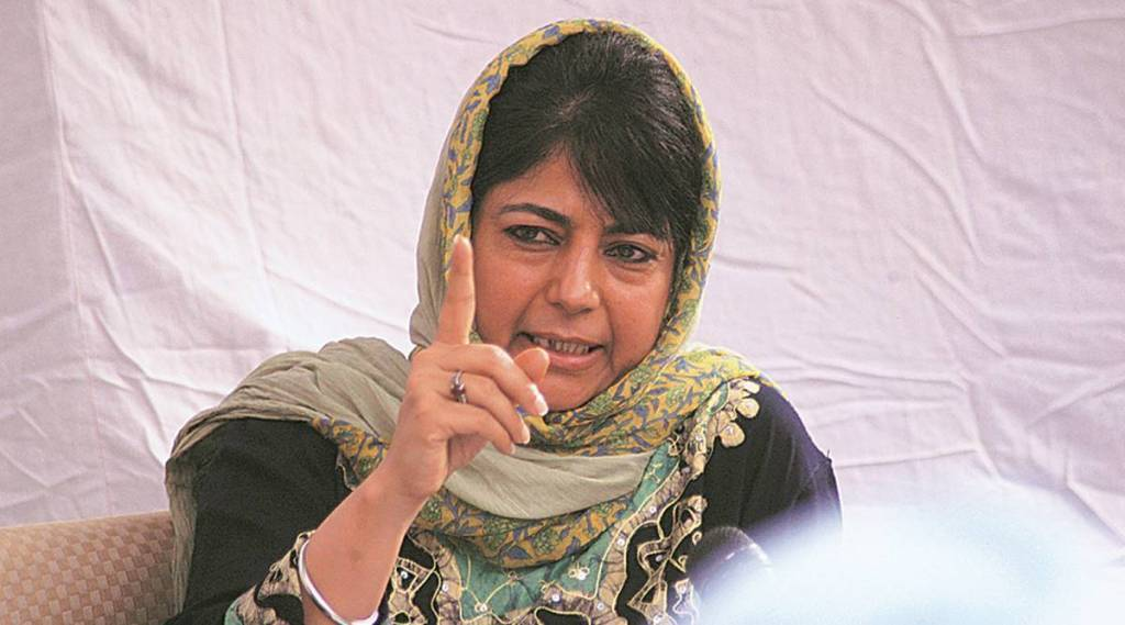 Article 370 If BJP can fight for 70 years why cant we- Mehbooba Mufti