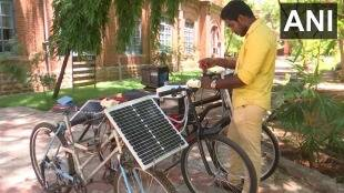 solar powered electric cycle