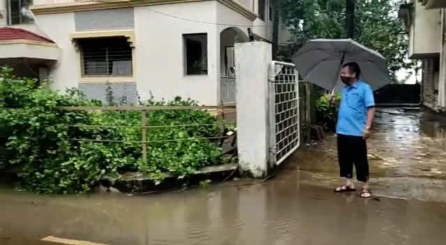 PHOTOS Water seeps into Ayurvedacharya Balaji Tambe center