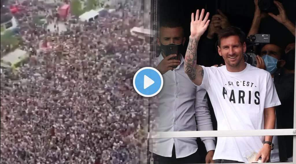 3 Lakh Fans Waiting For Lionel Messi In Paris