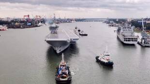 India first indigenous aircraft carrier INS Vikrant