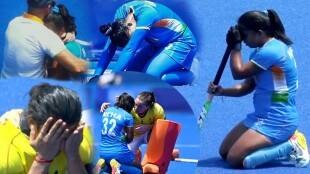 India Women Hockey Team Members Crying After losing Bronze Medal Match at Olympics 2020
