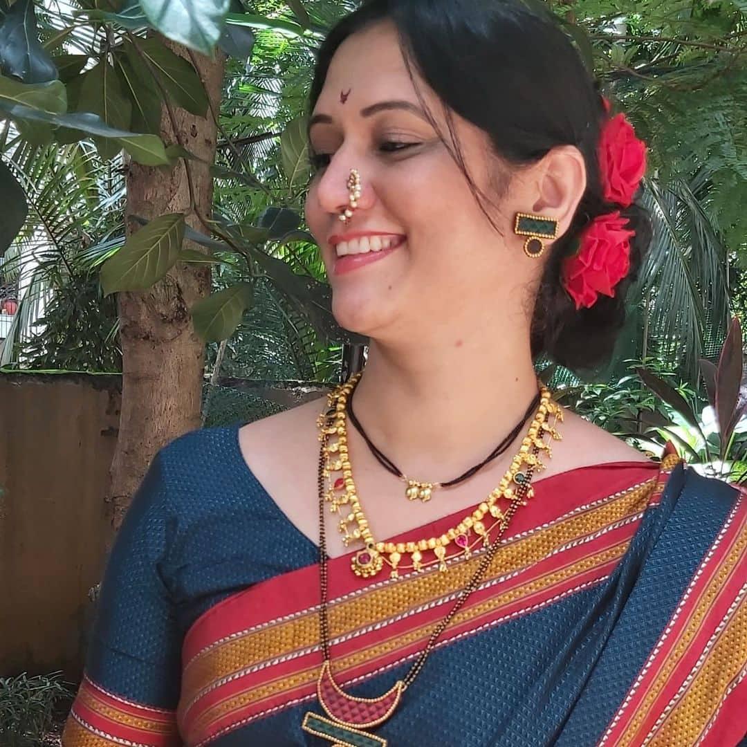 Samidha Guru Khun Fabric Mangalsutra