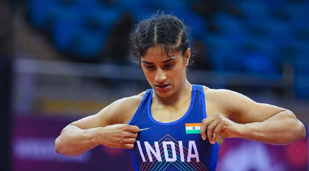 indian olympic contingent, indian olympic athletes, Vinesh Phogat