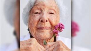 99 year old model for beauty products know amazing story gst 97