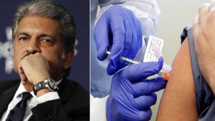 anand mahindra tweet on vaccination in india