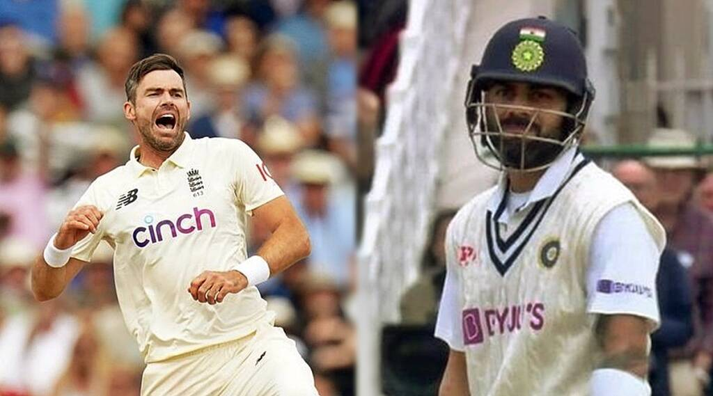 ind vs eng first test watch james anderson removes virat kohli for a first ball