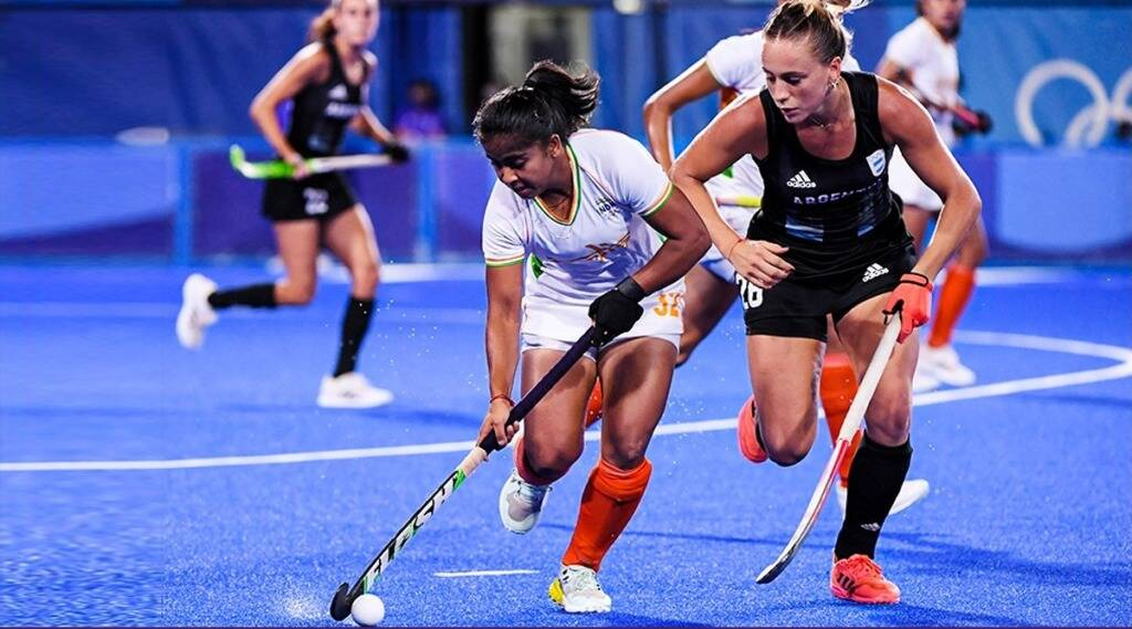 Tokyo Olympics hockey indian womens team lost to argentina in semis
