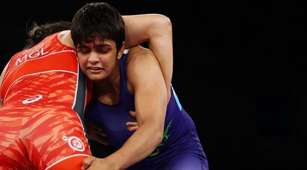Sonam malik has lost her first match against mongolias bolortuya k in round of 16