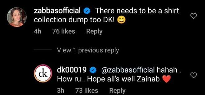 Pakistan Anchor Zainab Abbas Reacts to Dinesh Karthik Latest Instagram Post