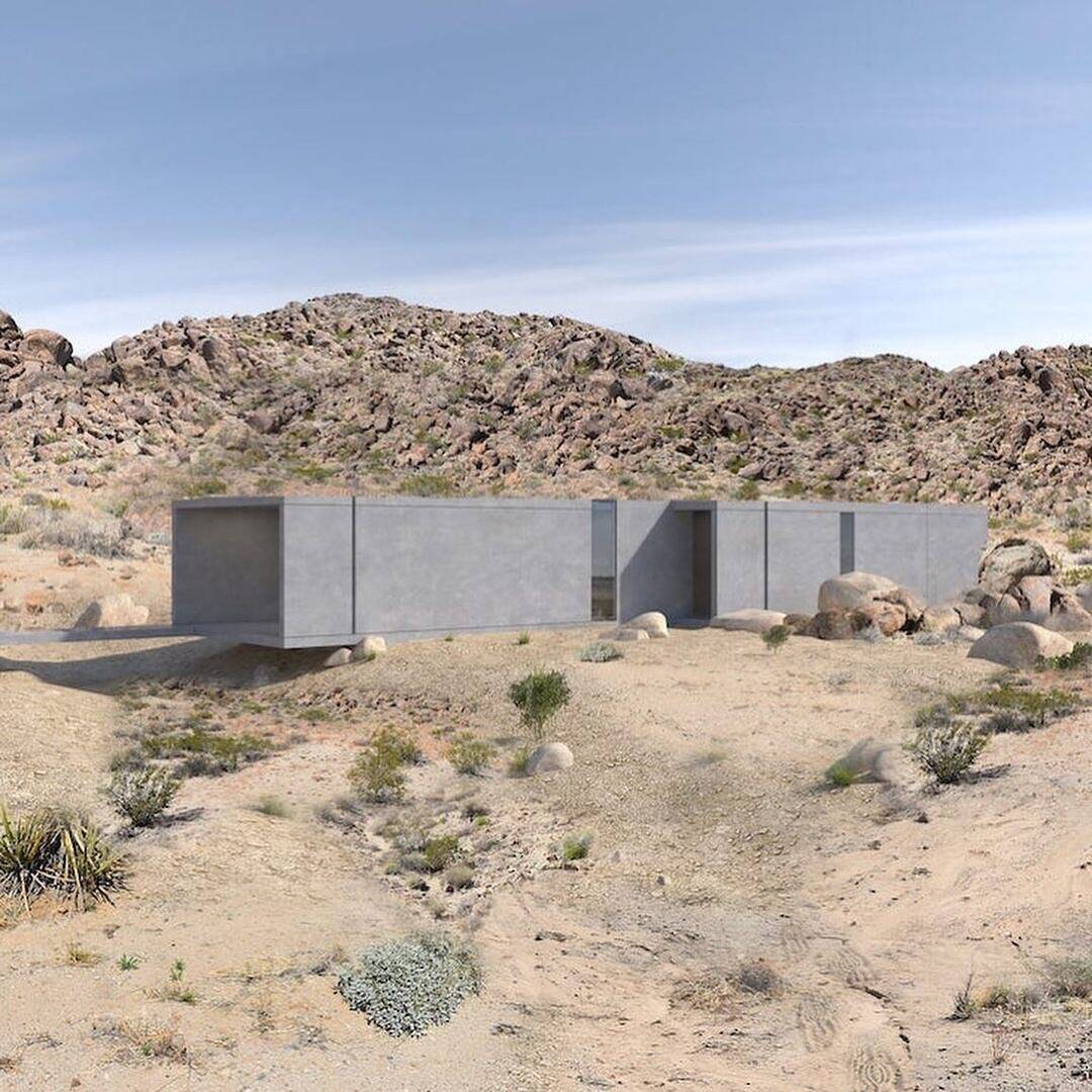 El Cemento Uno Remote House In The Middle Of Mojave Desert