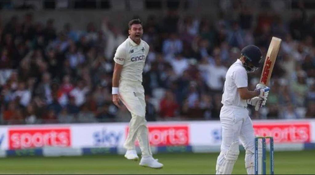 Want to show him what means for us to get him outJames Anderson celebrations getting Kohli wicket